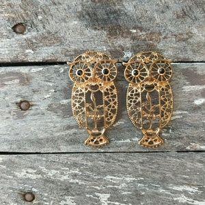 Owl Earrings !☀️4/$25!🌴